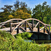 Wheaton Northside Park Bridge Art Print