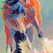 Whee Art Print by Kimberly Santini