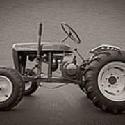 Wheel Horse Vintage Art Print