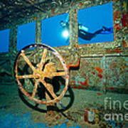 Wheel House Art Print