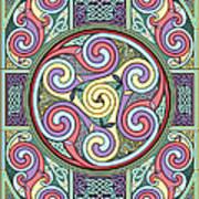 Wheel Of Celtia Art Print