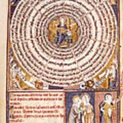 Wheel Of Sevens Art Print