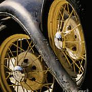 Wheel To Wheel Art Print