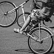 Wheelie Boys Art Print