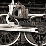 Wheels And Rods Art Print