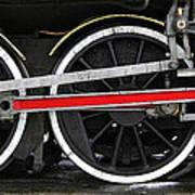 Wheels Of The Kingston Flyer Print by Joe Bonita