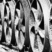 Wheels V2 Art Print
