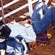 When Boots Is Pillows Art Print
