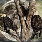 When Eagles Sing Art Print