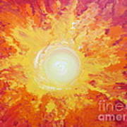 When Fire Falls Art Print