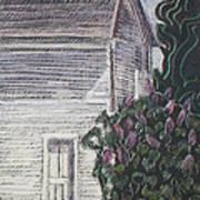 When Lilacs Last... Print by Grace Keown