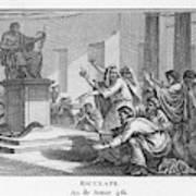 When Plague-afflicted Romans  Come Art Print