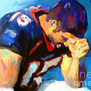 When Tebow Was A Bronco Art Print by GCannon