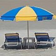 Where Are All The Beach Bums? Art Print