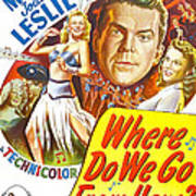 Where Do We Go From Here, Us Poster Art Print
