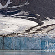 Where Glaciers Meet Art Print