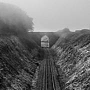 Where Is Steam Train Art Print