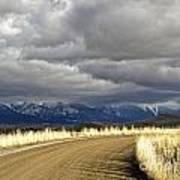 Where The Mountains Meet You Art Print