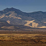 Whetstone Mountains At Sunset Art Print