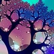 Whimsical Forest Art Print