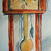 Whimsical Time Piece Art Print