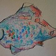Whimsy Fish Art Print