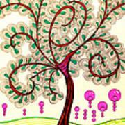 Whimsy Tree Art Print