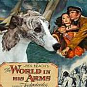 Whippet Art - The World In His Arms Movie Poster Art Print