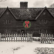 Whipple House Christmas Art Print