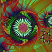 Whirligigs Art Print