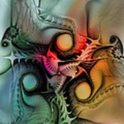 Whirlpool-abstract Art Art Print