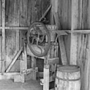 Whiskey Barrel  Art Print