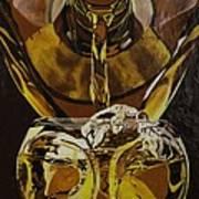 Whiskey Pour Art Print