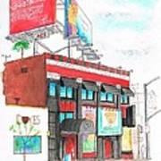 Whisky-a-go-go In West Hollywood - California Art Print