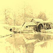 Whispers Of Mabry Mill Art Print