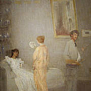 Whistler In His Studio Art Print