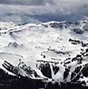 Whistler Mountain View From Blackcomb Art Print