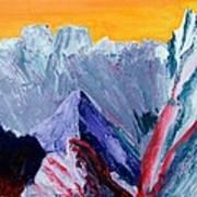 White Canyon Art Print
