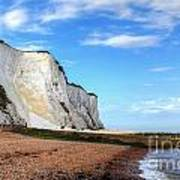White Cliffs Of Dover Art Print