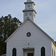 White Country Church Series Photo A Art Print