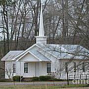 White Country Church Series Photo B Art Print