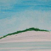 White Dunes Art Print