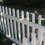 White Fence Provincetown Art Print
