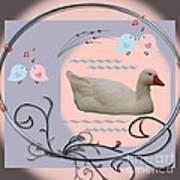 White Goose Series 1 Art Print