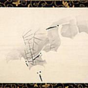 White Herons Art Print