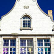 White House In Bruges Art Print