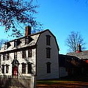 White House Of Deerfield Art Print