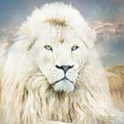 White Lion - Spirit Of Goodness Art Print