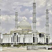 White Mosque Art Print
