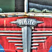 White Motor Company Highway Post Office U. S. Mail No 1 Art Print